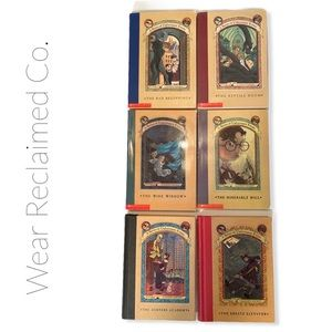 SERIES OF UNFORTUNATE EVENTS Kids Books 1-6